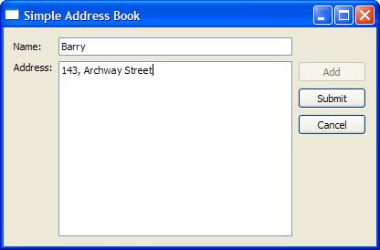 qt 4 6 address book 2 adding addresses