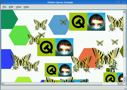 Porting to Qt 4 2's Graphics View