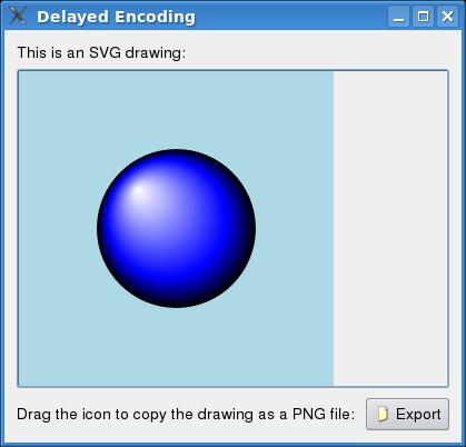 Delayed Encoding Example | Qt 4 8