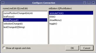 Qt tutorial signals and slots   python  2019-04-25