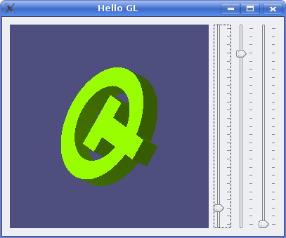 Hello GL Example | Qt 4 8