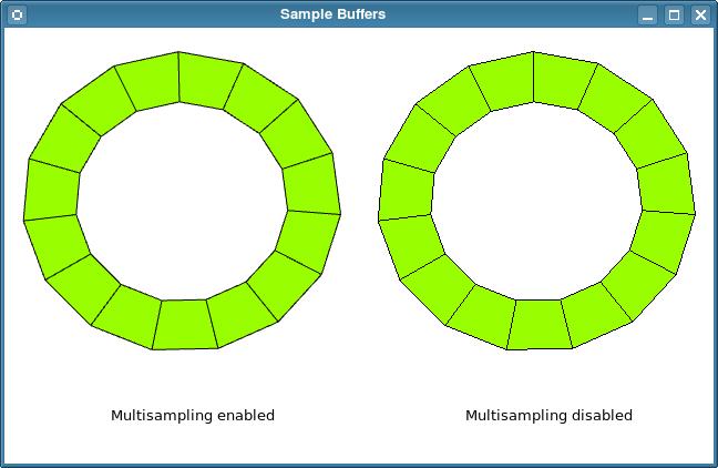 Sample Buffers Example | Qt 4.8