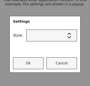 Popup Controls | Qt Quick Controls 2 5 10