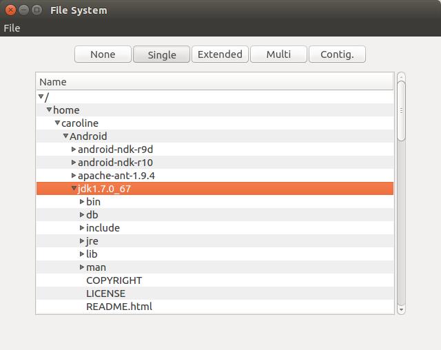 Qt Quick Controls - File System Browser Example | Qt Quick Controls 5 11