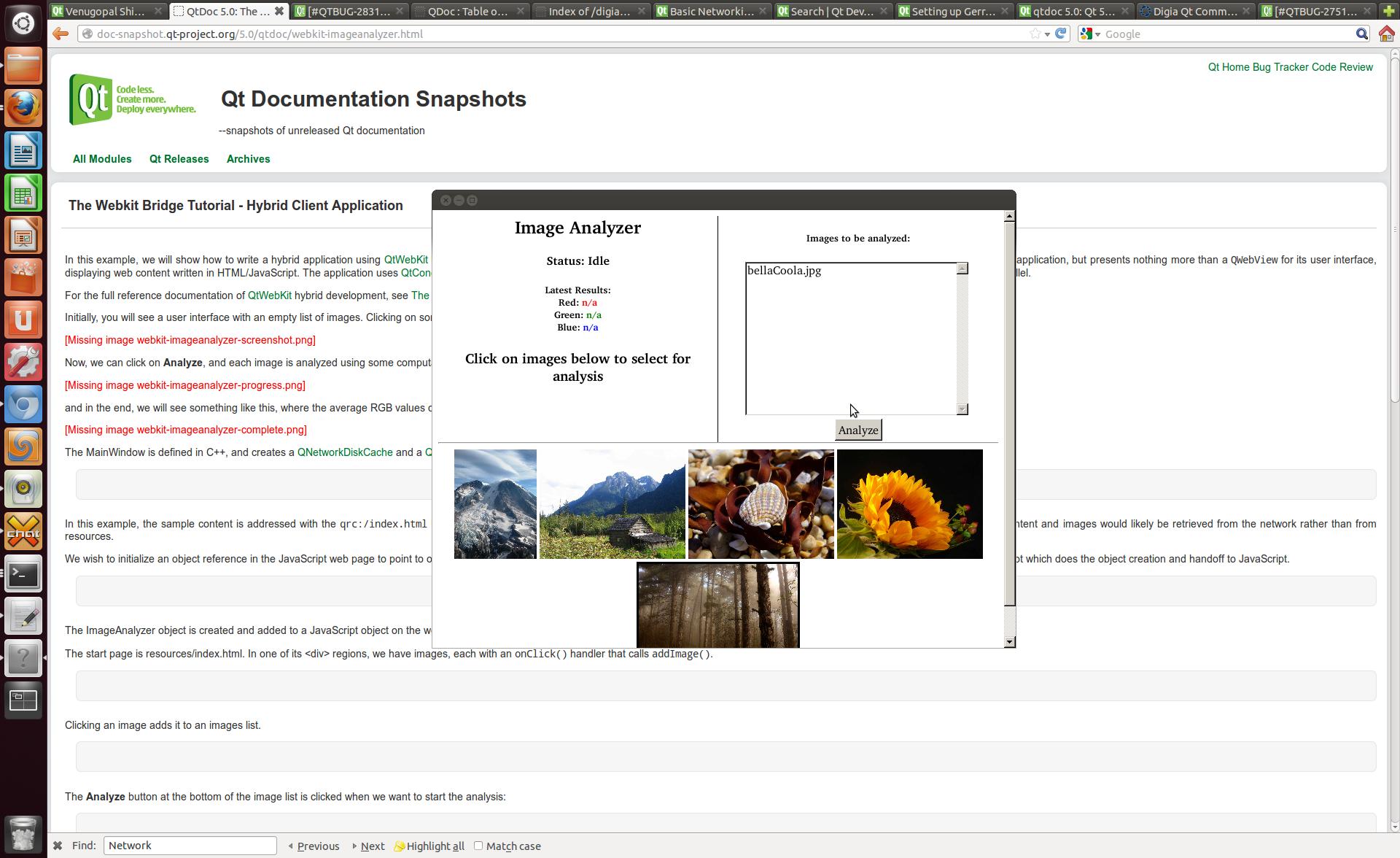 The Webkit Bridge Tutorial - Hybrid Client Application | Qt