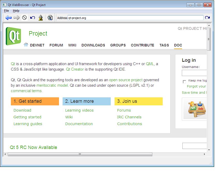 Web Browser Example (ActiveQt)   Active Qt 5 9