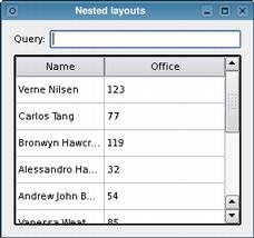 Widgets Tutorial - Nested Layouts | Qt Widgets 5 9