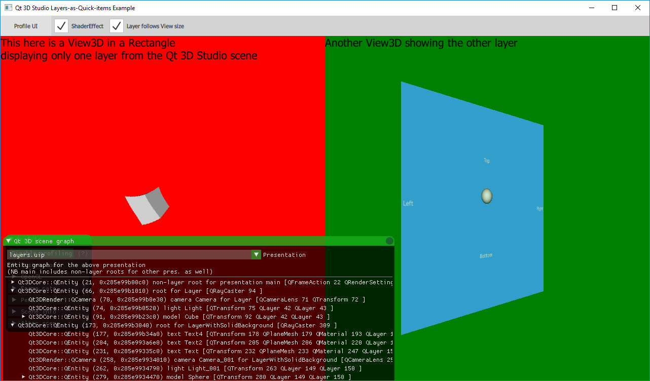 Qt 3D Studio Runtime: Layers in Qt Quick Example | Runtime 2 4 0