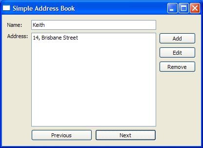 address book tutorial