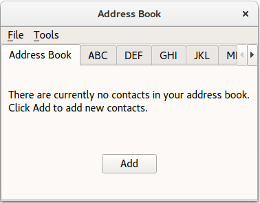 Address Book Does Not Work