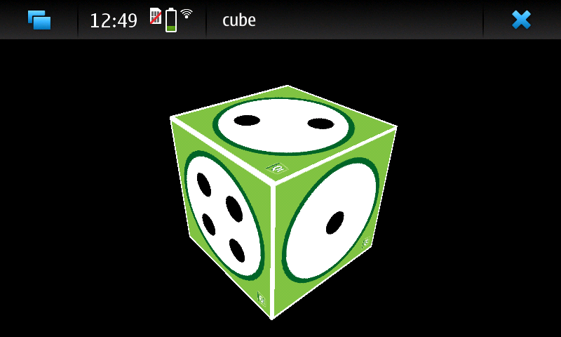 Line Drawing Algorithm Using Opengl : Cube opengl es example qt