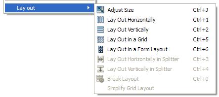 Using Layouts in Qt Designer | Qt Designer Manual