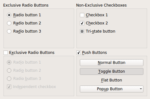 html form radio button: