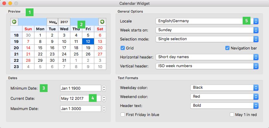 Qt Widget Gallery | Qt Widgets 5 13 1