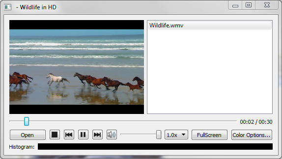 Media Player Example | Qt Multimedia 5 13 1