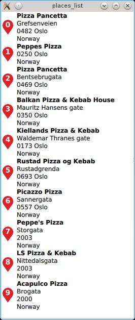 places location qt place qml io listview api doc