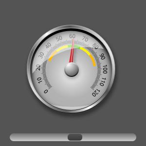 UI Components: Dial Control Example   Qt Quick 5 13 0