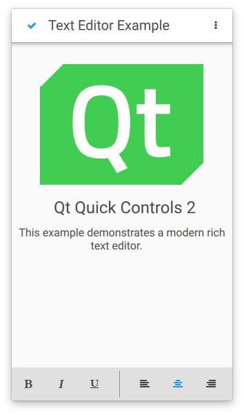 Qt Quick Controls - Text Editor | Qt Quick Controls 5 13 0