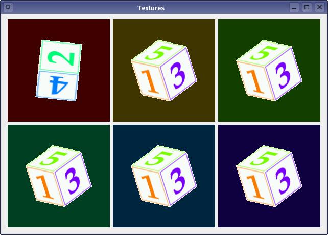 Textures Example | Qt OpenGL