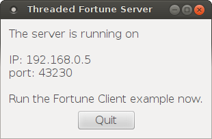 Threaded Fortune Server Example   Qt Network 5 13 1