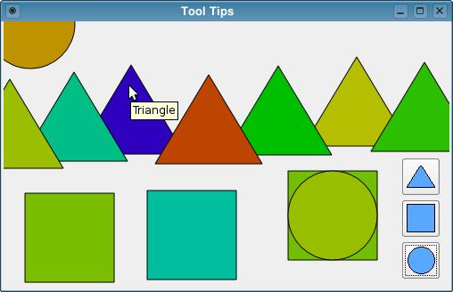 Tool Tips Example   Qt Widgets 5 13 0