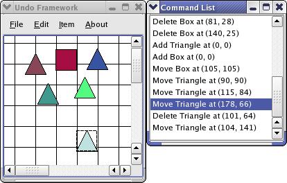 Undo Framework Example | Qt Widgets 5 13 0