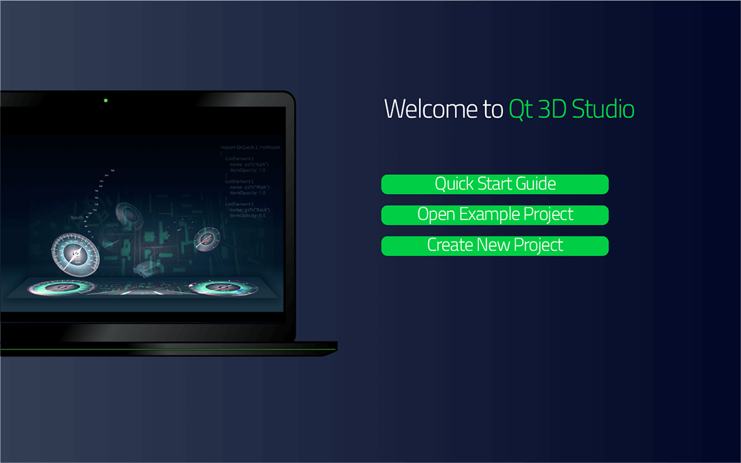 Quick Start Guide | Qt 3D Studio 2 4 0