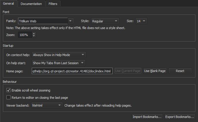 Using the Help Mode   Qt Creator Manual