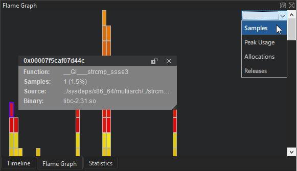 Analyzing CPU Usage   Qt Creator Manual